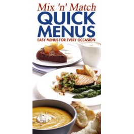 Mix 'n' Match Quick Menus