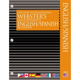 Webster's Notebook Spanish English Dictionary