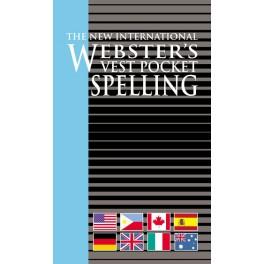 Webster's Vest Pocket Spelling Dictionary