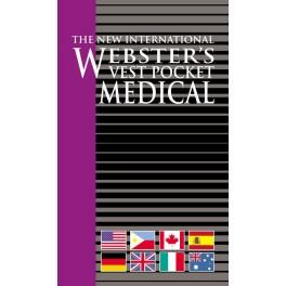 Webster's Vest Pocket Medical Dictionary