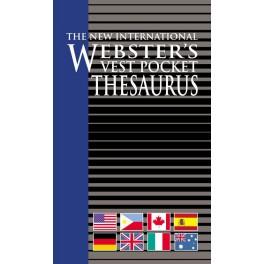 Webster's Vest Pocket Thesaurus