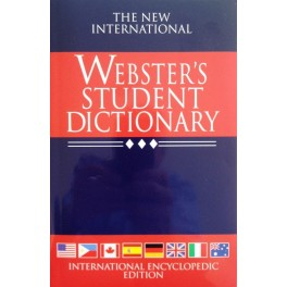Webster's Student Dictionary Hardcover
