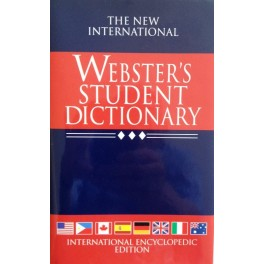 Webster's Student Dictionary Paperback