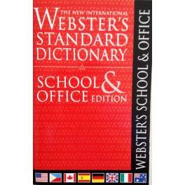 Webster's Standard School & Office Dictionary Hardcover