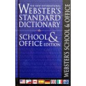 Webster's Standard School & Office Dictionary Paperback
