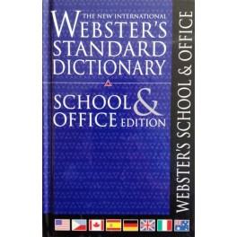 Webster's Standard School & Office Dictionary Paperback