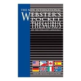 Webster's Pocket Thesaurus