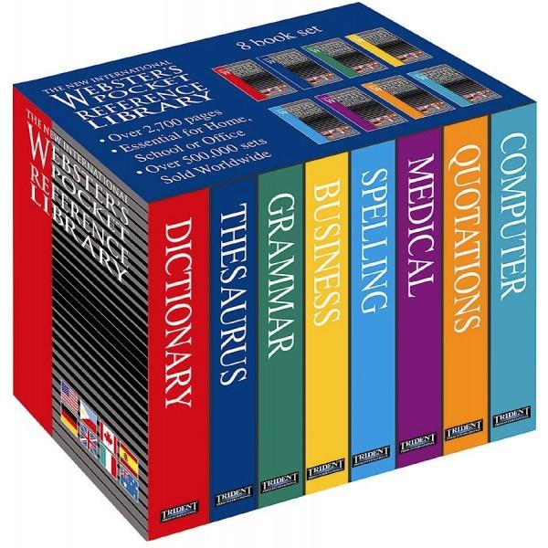 Webster's Pocket Reference Library 8 Volume - Standard International