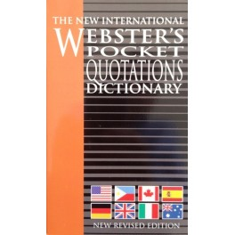 Webster's Pocket Quotations Dictionary